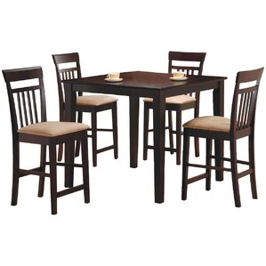 St. Brigid 5 Piece Counter Height Dining Set by ..