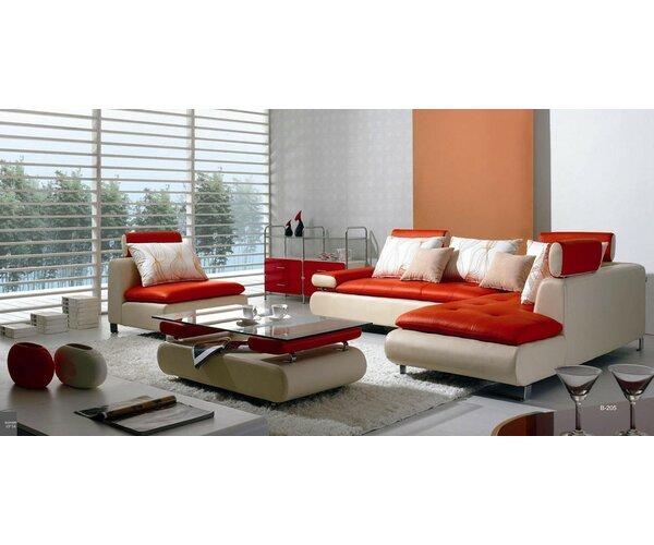 Orren Ellis Corktown 4 Piece Living Room Set & Reviews