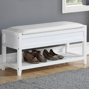 lambrecht seating bench with shoe storage