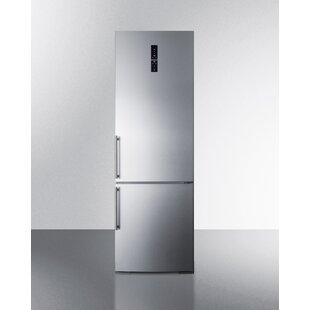Summit 11 6 Cu Ft Counter Depth Bottom Freezer Refrigerator