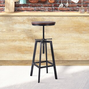 Boyland Adjustable Height Swivel Bar Stool