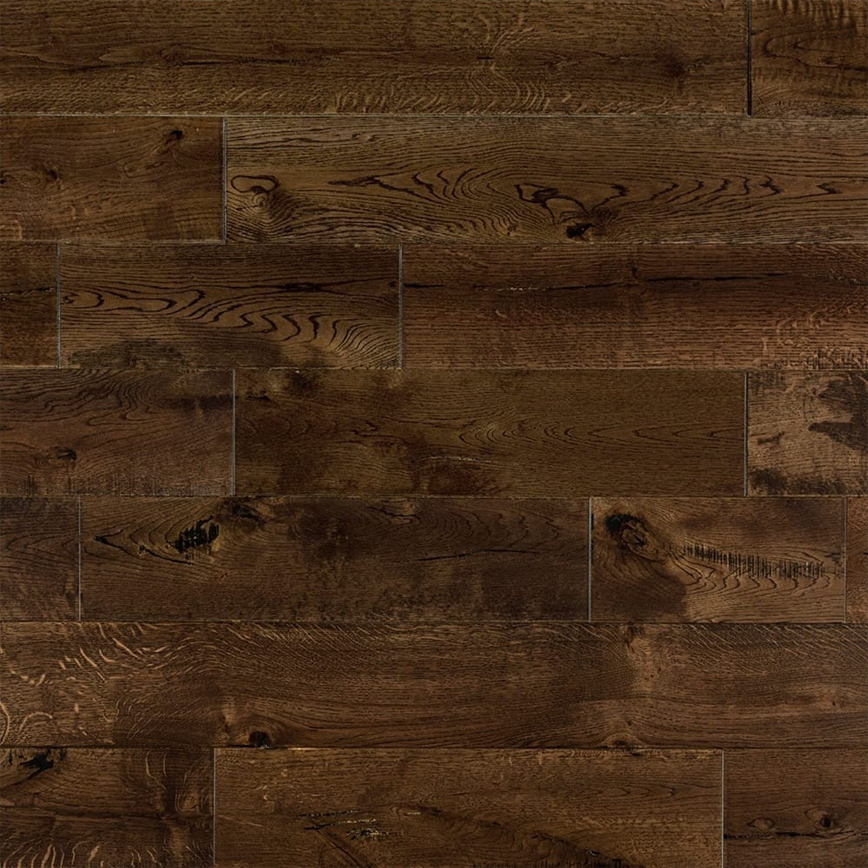 Welles Hardwood Chase French 6 Solid Oak Flooring In Whiskey