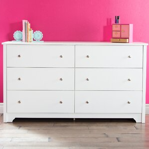Vito 6 Drawer Double Dresser by South Shore
