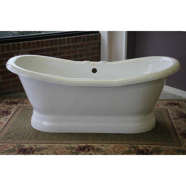 Restoria bathtub company empress 68 x 30 freestanding for A table restoria