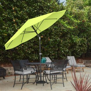 Green Patio Umbrellas