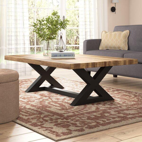 Modern Farmhouse Coffee Table: Laurel Foundry Modern Farmhouse Vivier Coffee Table