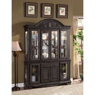Bunnell 4-Door Hutch China Cabinet