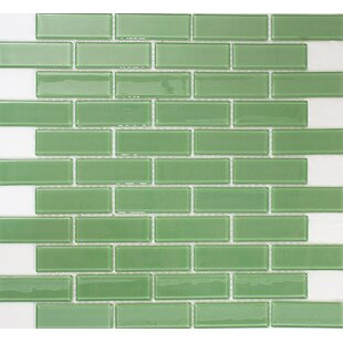 1 X 3 Gl Subway Tile In Pale Green