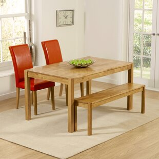 Cambridge Dining Set With 2 Chairs And 1 Bench