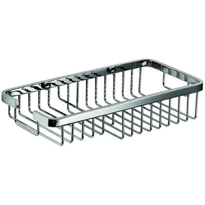 Orren Ellis Snowhill Bath Shower Caddy Shelf Storage & Reviews | Wayfair