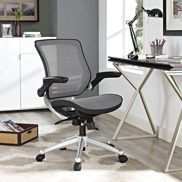 modway mid-back mesh desk chair & reviews | wayfair