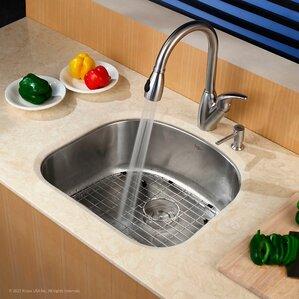 Bathroom Sinks 19 X 21 u-shaped kitchen sinks you'll love | wayfair