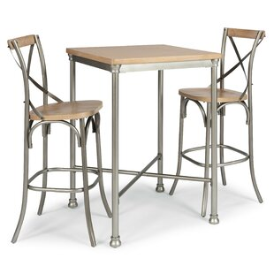 Hamann 3 Piece Pub Table Set (Set of 3)