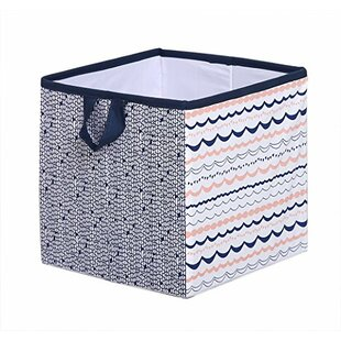 Olivia Tribal Fabric Storage Cube And Bin