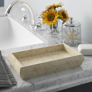 Jolley Marble Deluxe Bathroom Accessory Tray