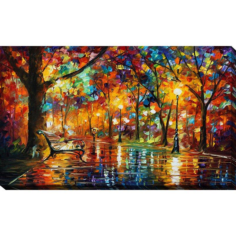 pictureperfectinternational colorful night by leonid afremov