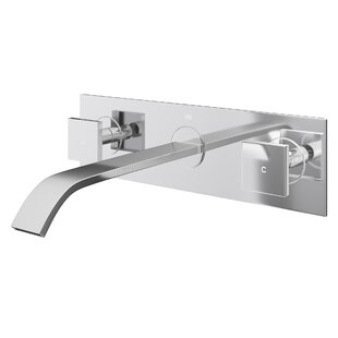 Modern Wall Mounted Bathroom Sink Faucets | AllModern on one hole sink faucet, single handle utility faucet, vintage bridge kitchen faucet, copper kitchen sink faucet, single handle outdoor faucet, single handle wall faucet, pull down kitchen faucet, single handle bar faucet, single faucets for bathroom sink, single bathroom vanities and cabinets, american standard mop sink faucet, best brand of kitchen faucet, oil rubbed bronze kitchen sink faucet, shampoo sink faucet, single handle vessel faucet, single handle shower, single handle ceramic disc cartridge, master plumber brand kitchen faucet, danze sirius faucet, single handle faucet repair,
