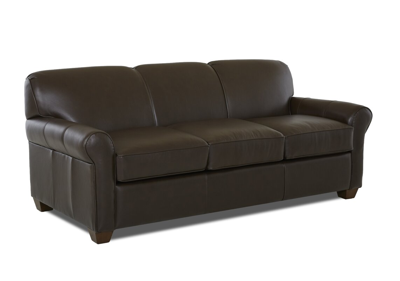 Jennifer 81 Leather Sleeper Sofa Reviews Joss Main ~ Genuine Leather Sleeper Sofa