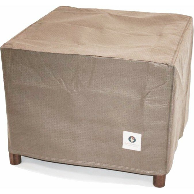 Elite 32 Square Patio Ottoman Or Side Table Cover