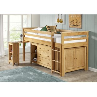 Traditional Corona Mid Sleeper Bed with Storage by Home & Haus