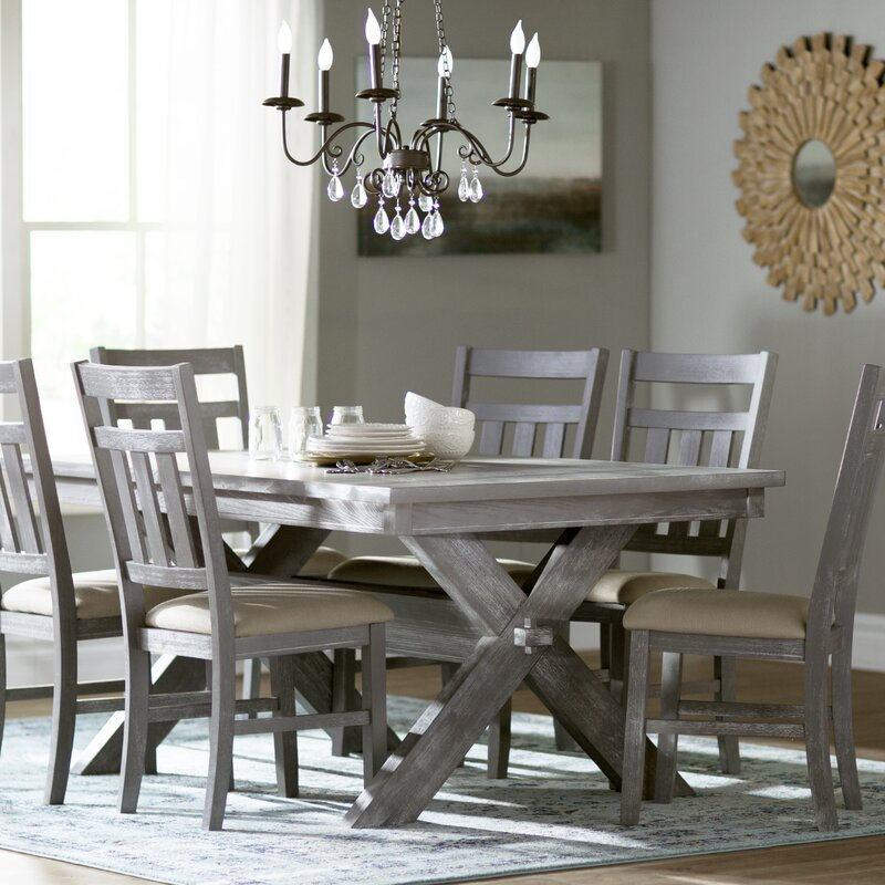 Lark Manor Amaury 7 Piece Dining Set & Reviews | Wayfair