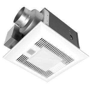 WhisperLiteu2122 80 CFM Energy Star Bathroom Fan with Light