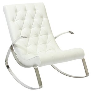 Gregory Tufted Rocking Chair by Home Loft Co..