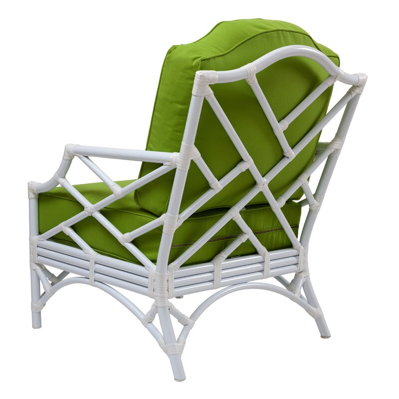 Chippendale Patio Chair With Cushions