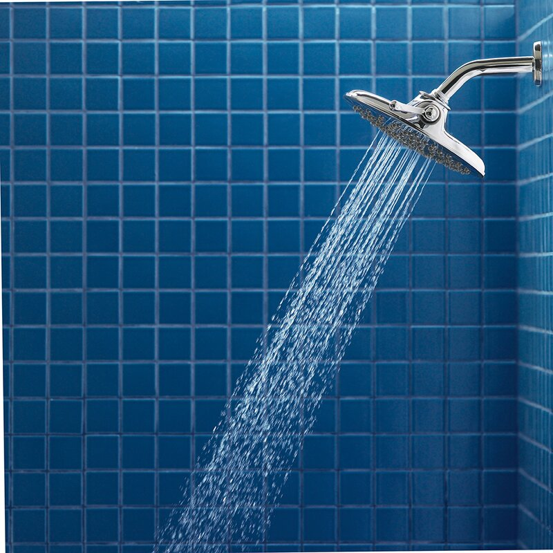 Moen Velocity Multi Function Rain Shower Head with Immersion ...