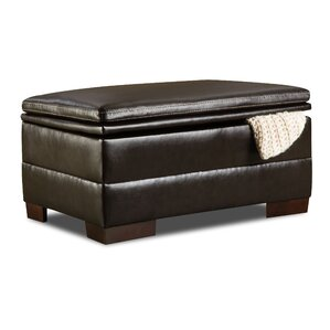 Simmons Upholstery Grandwood Storage Ottoman by Red Barrel Studio