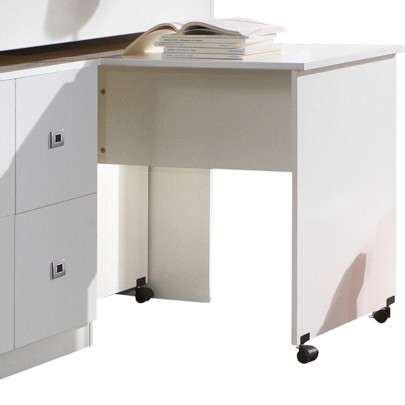 Wimex Halbhochbett Lenny Mit Schreibtisch Und Kommode 90 X 200 Cm