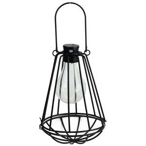 Wilson Solar Powered 1-Light LED Outdoor Hanging Lantern