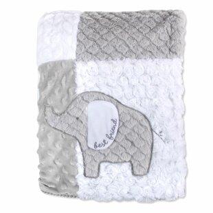 899b0f838d Vidya Polyester Patchwork Elephant Blanket
