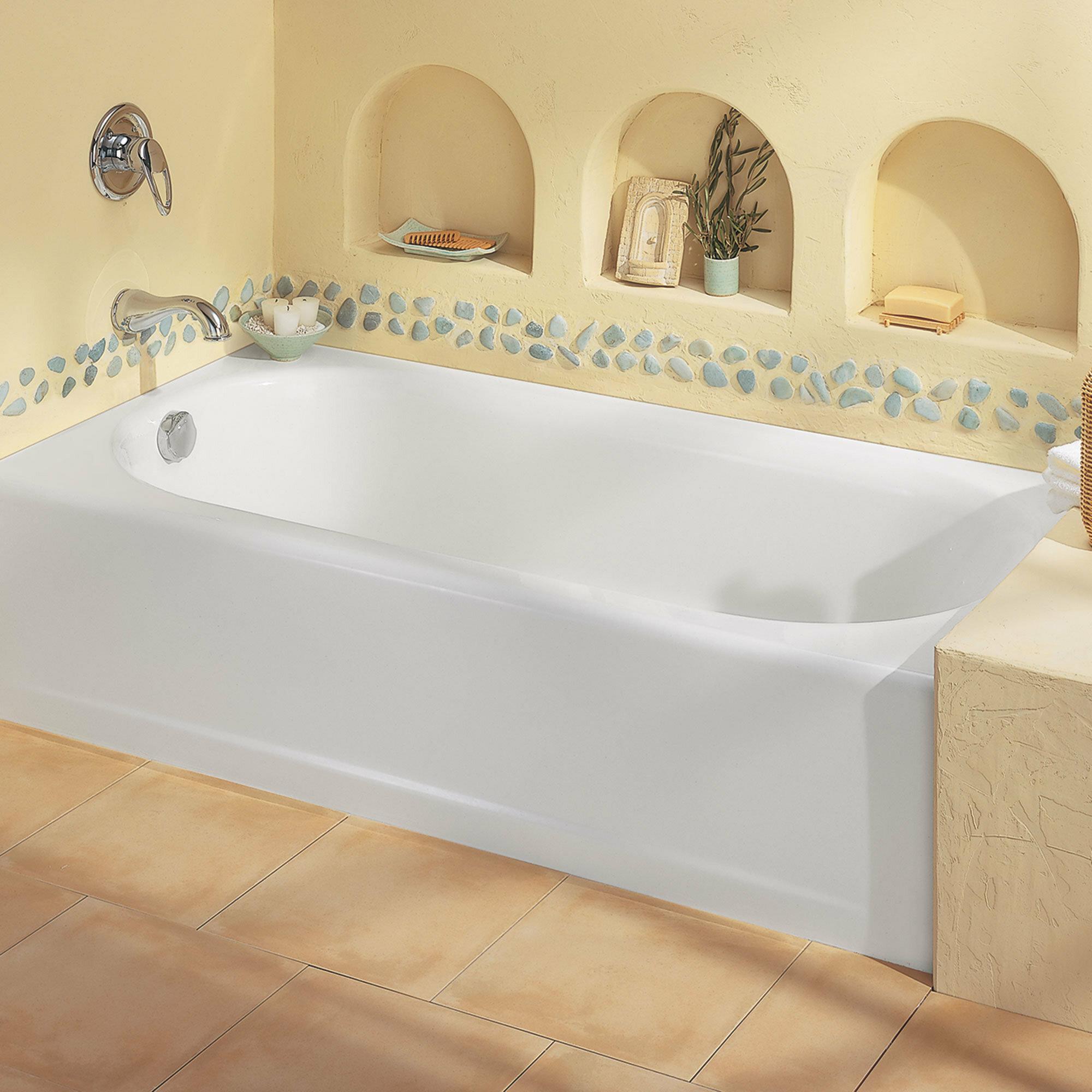 American Standard Princeton 60 X 30 Alcove Soaking Bathtub Reviews Wayfair