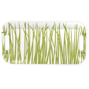 Seagrass Melamine Accent Tray