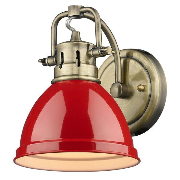 Beachcrest Home Bodalla 3 Light Metal Vanity Light Reviews: Beachcrest Home Bodalla 1-Light Wall Sconce & Reviews