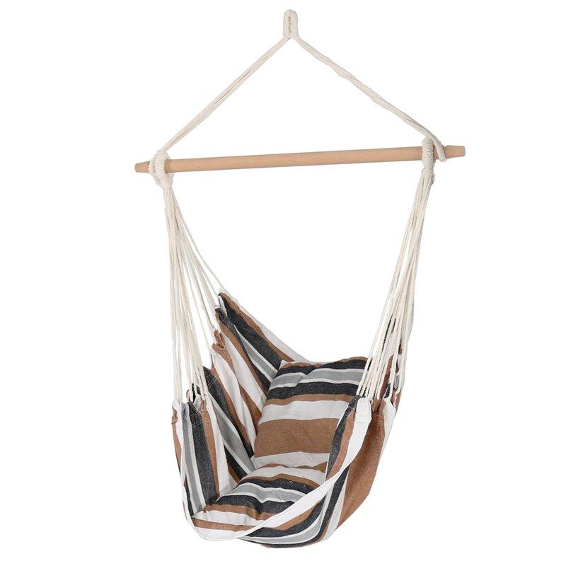 hanging chair hammock sunnydaze decor hanging chair hammock  u0026 reviews   wayfair  rh   wayfair