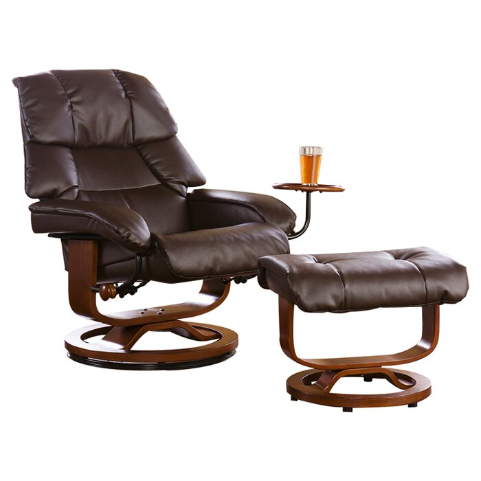 Beltway Manual Swivel Glider Recliner With Ottoman  sc 1 st  Wayfair : recliner and ottoman - islam-shia.org