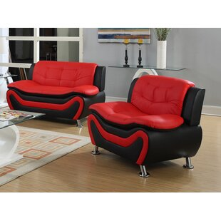 Red Living Room Sets You\'ll Love   Wayfair
