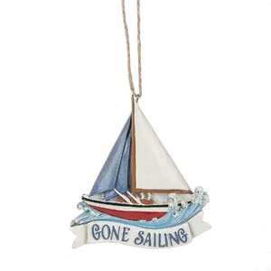 Gone Sailing Hanging Figurine