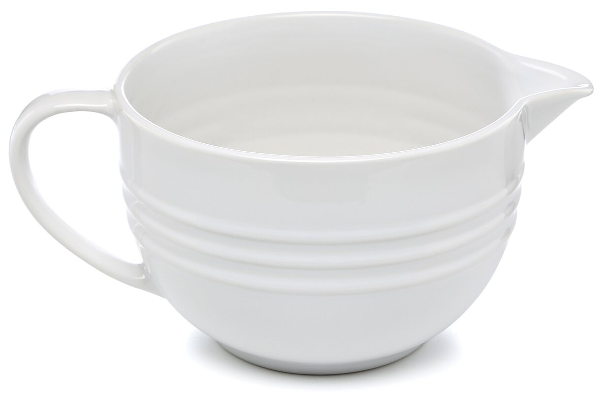 Le Creuset Stoneware Batter Bowl Amp Reviews Wayfair