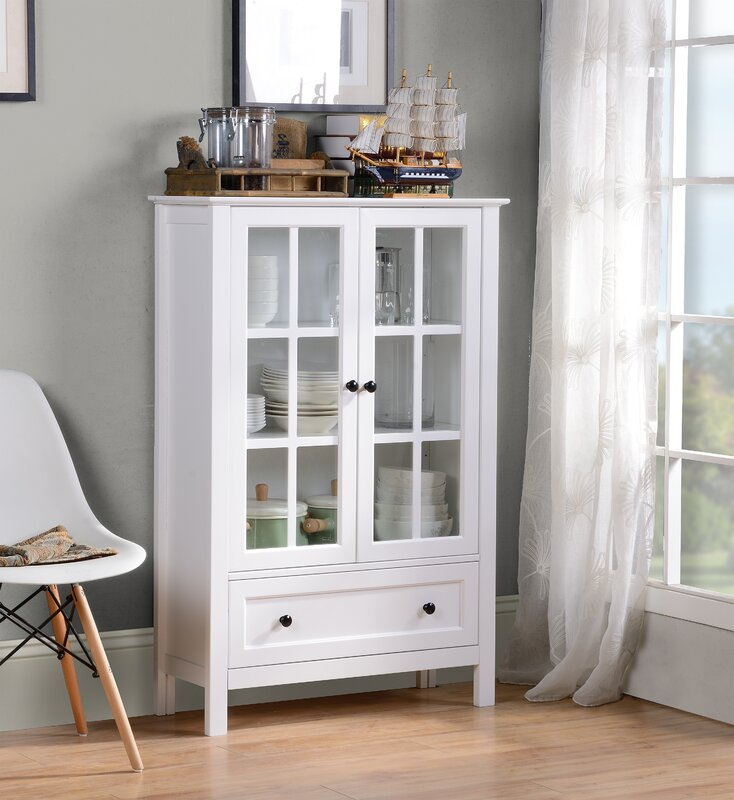 Small Kitchen Hutch Cabinets: Homestar Miranda Standard China Cabinet & Reviews