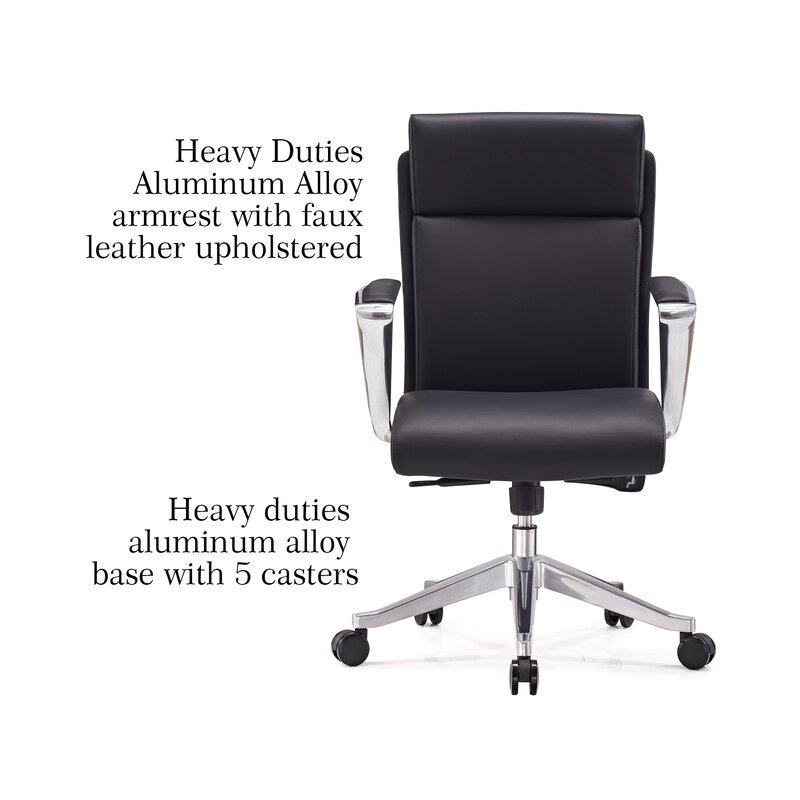 Billman Mid Back Multi Function Ergonomic Office Chair