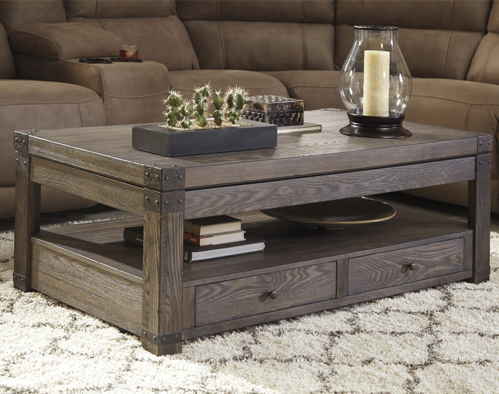 Loon Peak Bryan Coffee Table With Lift Top Amp Reviews