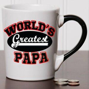 20 oz World's Greatest Papa Stoneware Coffee Mug