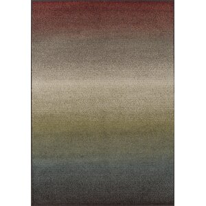 Knapp Blue/Red Area Rug