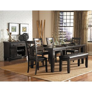 Hawn 6 Piece Dining Set by Woodhaven Hill