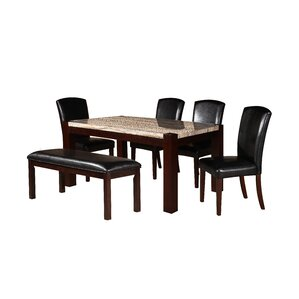 Dunnstown 5 Piece Dining Set by Darby Home Co