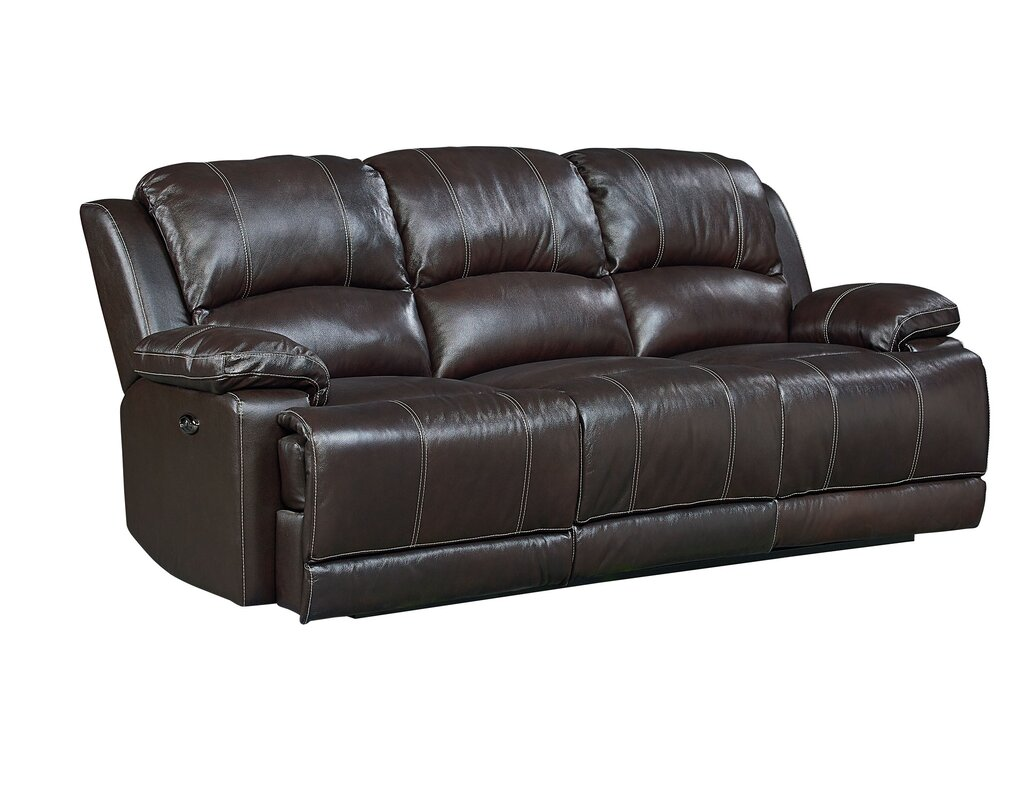 brown leather recliner sofas cindy crawford home alpen