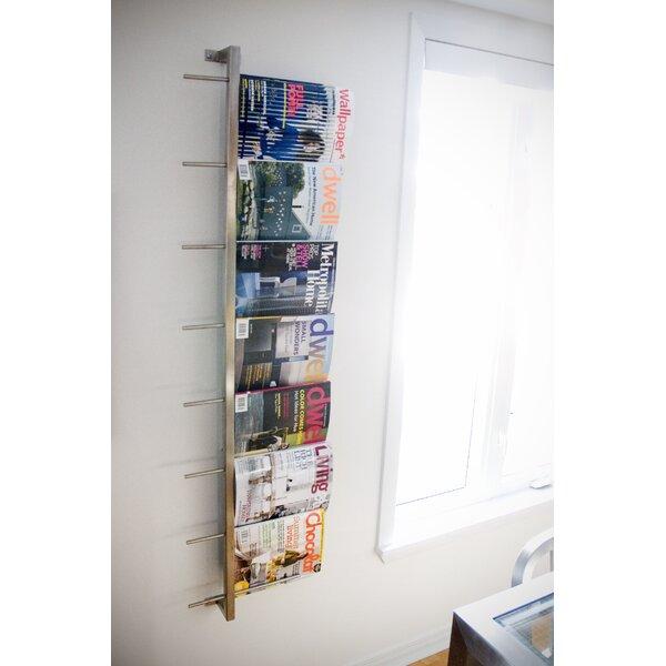 2 Piece Wall Mounted Magazine Rack Amp Reviews Allmodern